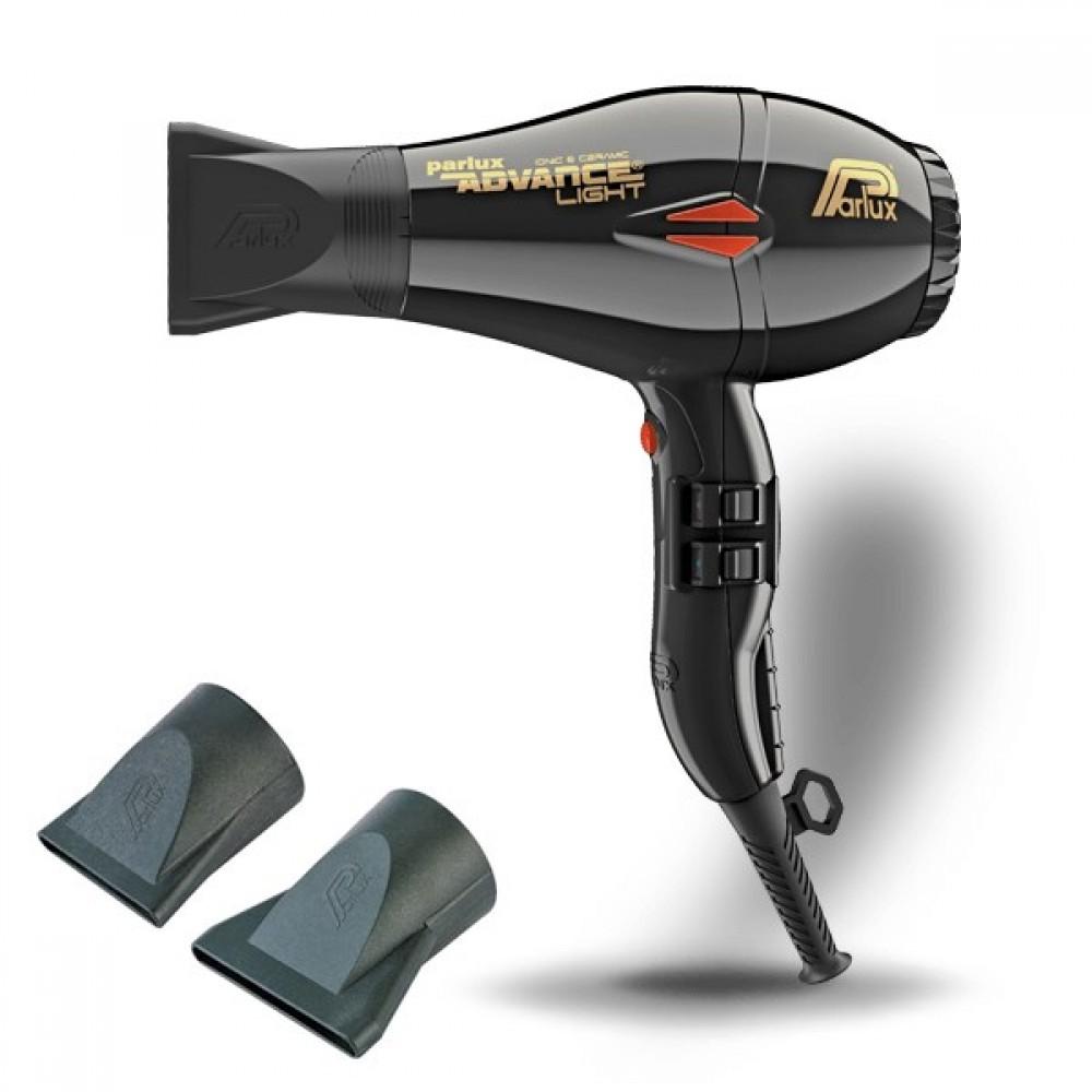 ΣΕΣΟΥΑΡ ADVANCE PARLUX LIGHT 2200 ΜΑΥΡO  ΣΥΝ ΔΩΡΟ Λακ Μαλλιών Schwarzkopf Professional Silhouette Super Hold Hairspray 300ml