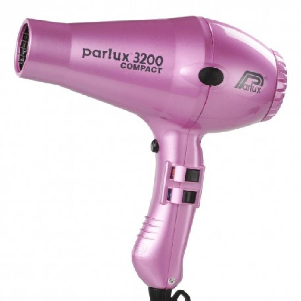 ΣΕΣΟΥΑΡ PARLUX 3200  COMPACT ΡΟΖ  ΣΥΝ ΔΩΡΟ Byphasse Κερατίνη για ξηρά μαλλιά σε σπρέυ 250ml