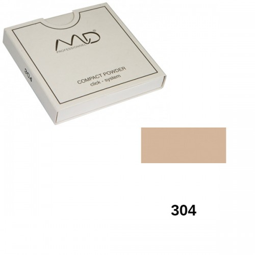 Πούδρα MD Professionnel Compact Powder Click System 304 12g