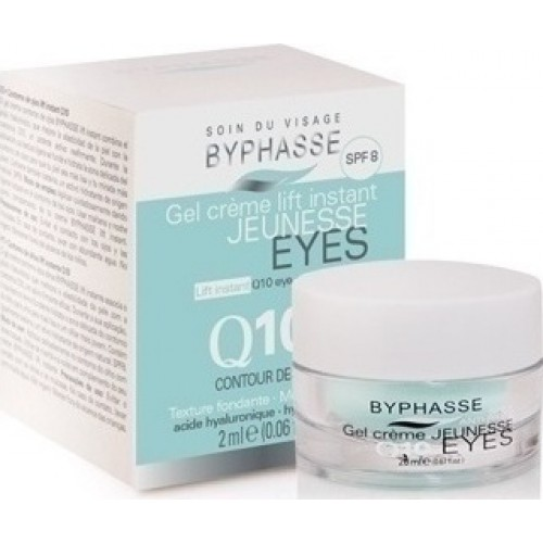 Κρέμα Ματιών Byphasse Gel Creme Lift Instane Eyes Q10 20ml