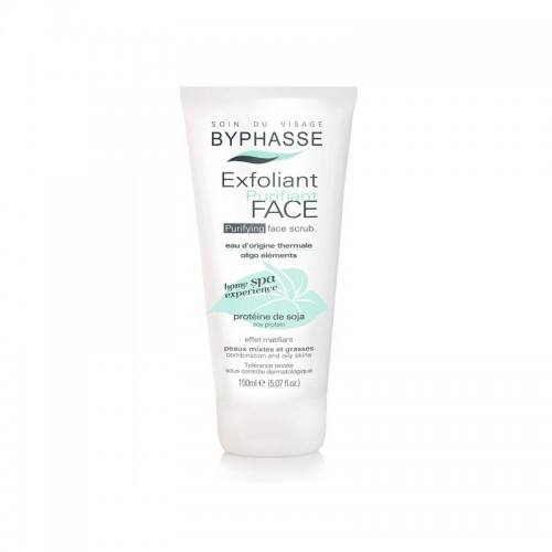Πίλινγ προσώπου Byphasse Purifying Face Scrub Combination/Oily Skins 250ml