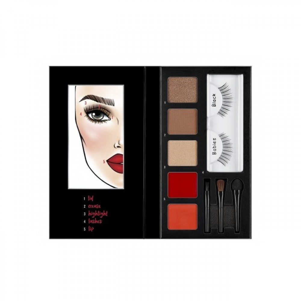 Ardell Looks to Kill - Lash Eye  Lip Kit - Steal the Show  Babies AR-05131