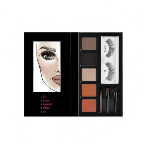 Ardell Looks to Kill - Lash Eye   Lip Kit - Sultry Night Out 105
