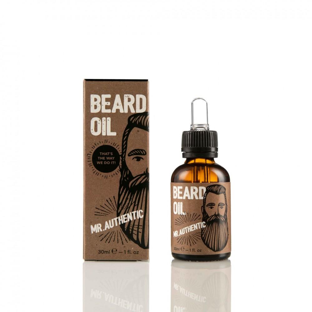 Cosmogent Mr. Authentic Beard Oil Ενυδατικό και μαλακτικό έλαιο για γένια  30ml