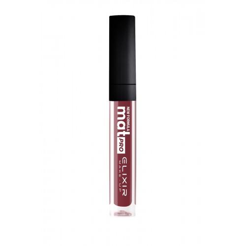 Elixir Liquid Lip Mat Pro κραγιόν - Lipgloss - 444 Dusky Rose 10,2ml