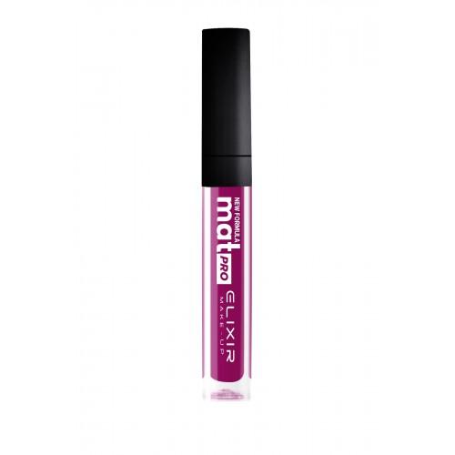 Elixir Liquid Lip Mat Pro κραγιόν - Lipgloss - 454- Red Violet 10,2ml
