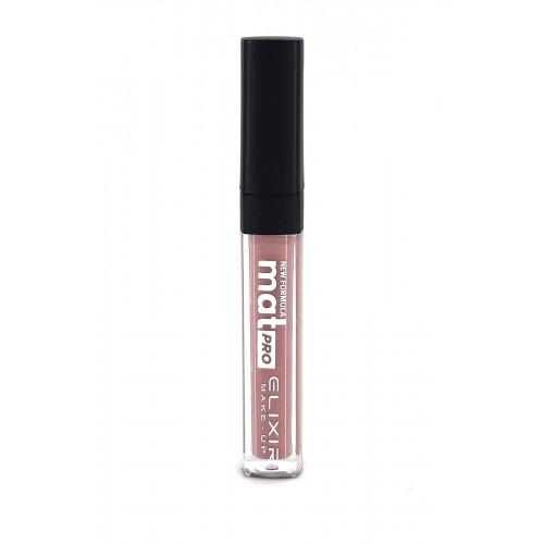 Elixir Liquid Lip Mat Pro κραγιόν - Lipgloss - 457- Nude Chestnut 10,2ml