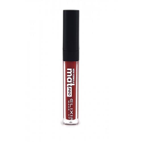 Elixir Liquid Lip Mat Pro κραγιόν - Lipgloss - 458- Dark Wine 10,2ml