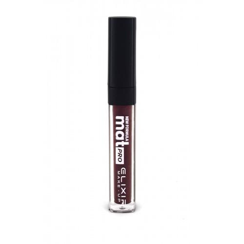 Elixir Liquid Lip Mat Pro κραγιόν - Lipgloss - 464- Eggplant 10,2ml