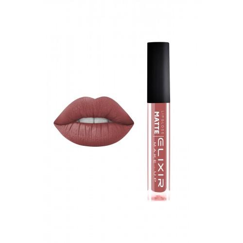 Elixir Liquid Lip Matte - κραγιόν - Lipgloss - 395 Terra Rose 10,2ml