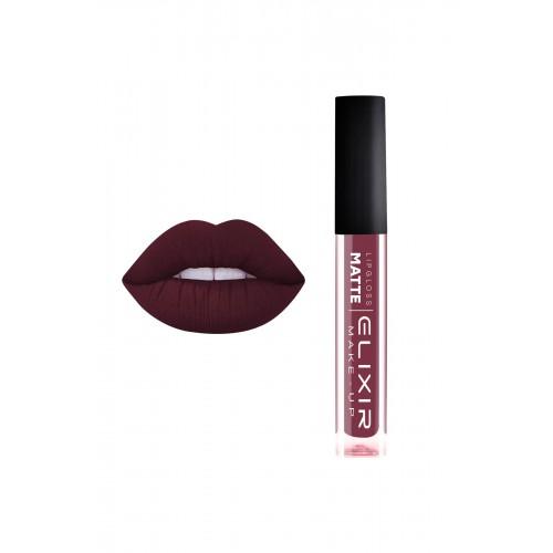 Elixir Liquid Lip Matte - κραγιόν - Lipgloss - 410- Plum 10,2ml