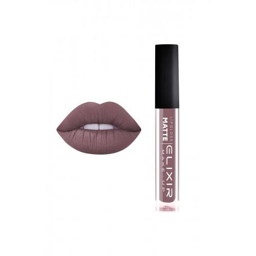 Elixir Liquid Lip Matte - κραγιόν - Lipgloss - 418- Nude Chestnut 10,2ml