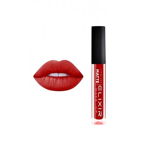Elixir Liquid Lip Matte - κραγιόν - Lipgloss - 421- Scarlet Red 10,2ml