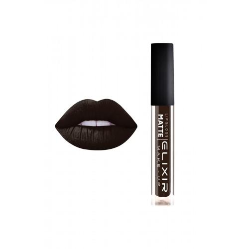 Elixir Liquid Lip Matte  - κραγιόν - Lipgloss - 413- Luxury Black 10,2ml