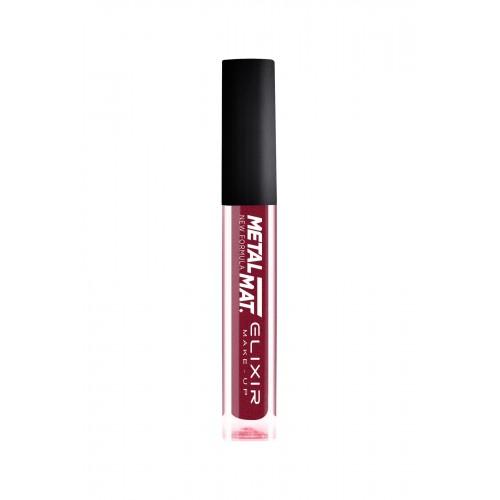Elixir Liquid Lip Metal  Mat κραγιόν - Lipgloss - 430- Chilly Pepper 10,2ml