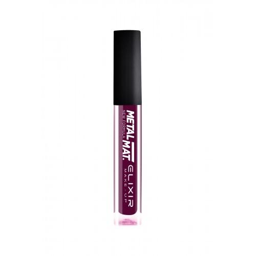Elixir Liquid Lip Metal  Mat κραγιόν - Lipgloss - 431- Metallic Violet 10,2ml