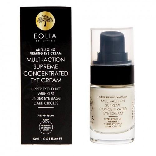 Αντιγηραντική κρέμα ματιών Eolia Cosmetics 15ml