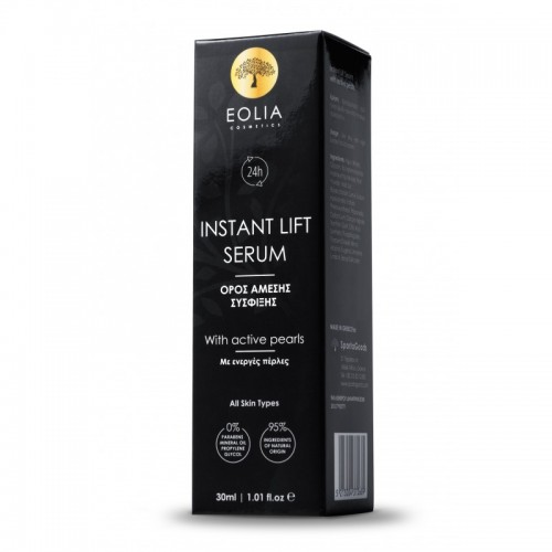 Ορός Άμεσης Σύσφιξης με ενεργές πέρλες και εκχύλισμα μαργαριταριού Eolia 30ml
