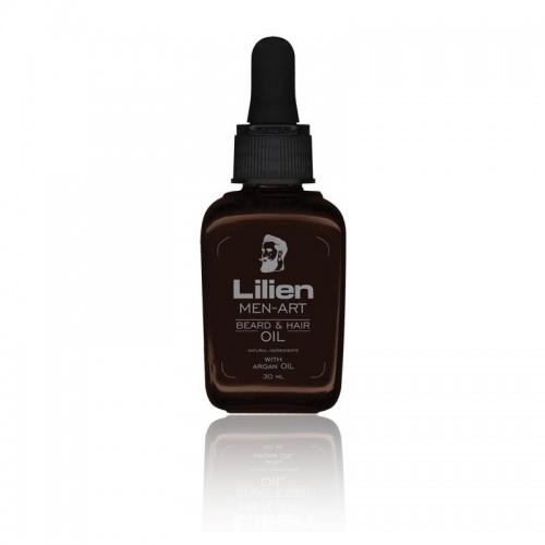 LILIEN MEN - ART BEARD - HAIR OIL BLACK 30ML