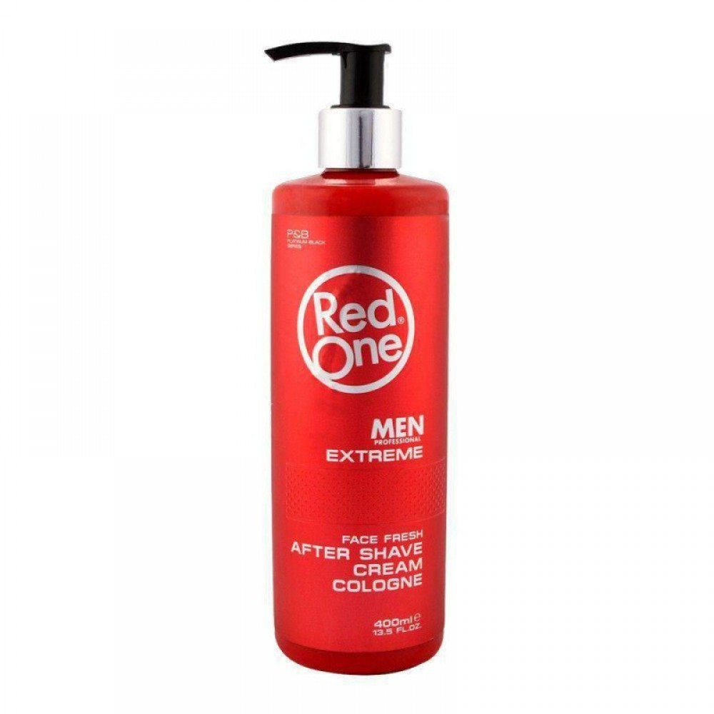 RED ONE AFTER SHAVE CREAM COLOGNE EXTREME 400ML