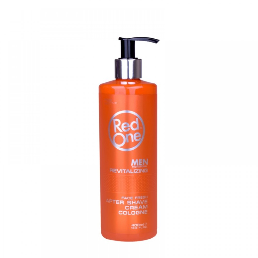 RED ONE AFTER SHAVE CREAM COLOGNE REVITALIZING 400ML