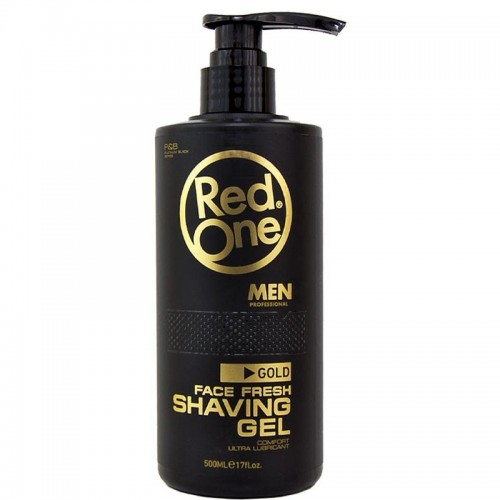RED ONE SHAVING GEL GOLD 500ML
