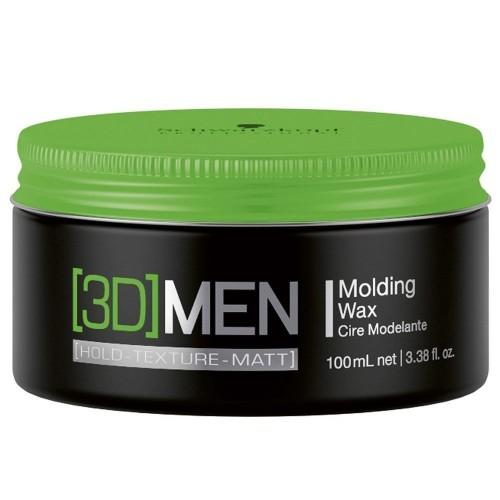 Schwarzkopf Professional 3D MEN Molding Wax Cire Modelante 100ml