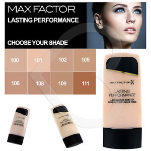 MAX FACTOR LASTING PERFORMANCE MAKE UP 101 IVORY BEIGE