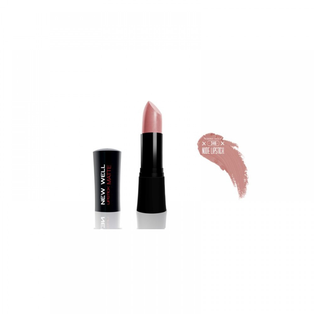 NEW WELL HANDMADE LIPSTICK NUDE  - ΑΝΕΞΙΤΗΛΟ ΚΡΑΓΙΟΝ NUDE No346