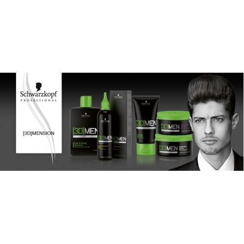 Schwarzkopf Professional 3D Men Deep Cleansing Shampoo 250ml