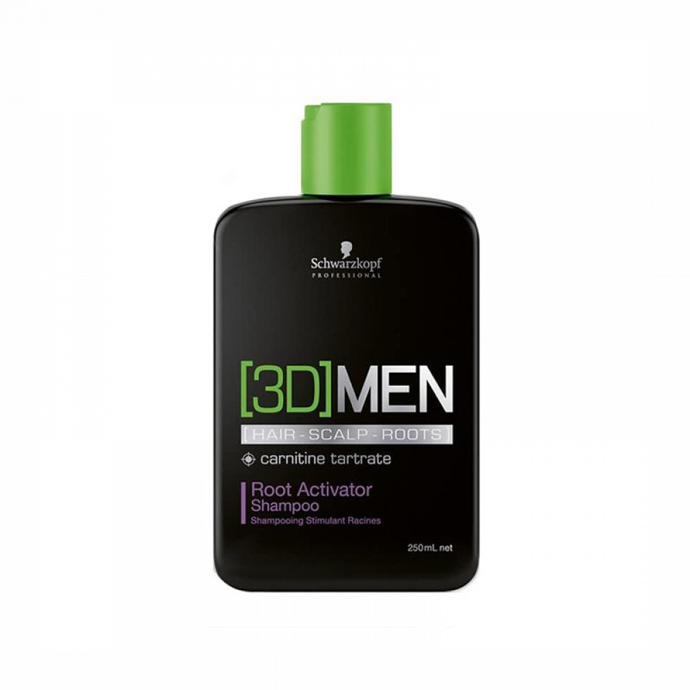 Schwarzkopf Professional 3D MEN Root Activator Shampoo 250ml
