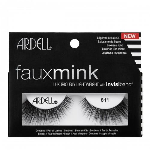 Βλεφαρίδες Ardell Faux Mink Lashes 811 Black