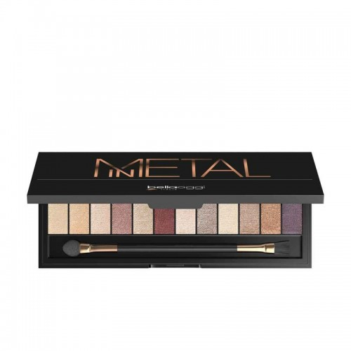 Σκιές Ματιών BellaOggi In Metal Eyeshadow Palette