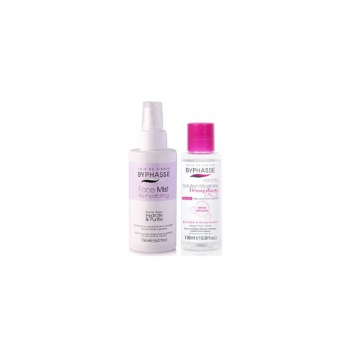 Byphasse Set Ενυδατικό Spray Προσώπου Για Λιπαρό Δέρμα 150ml+Micellar 100ml