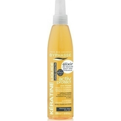 Chenfeng Ισιωτικό μαλλιών 65 Watt CF-2008C ΣΥΝ ΔΩΡΟ Byphasse Κερατίνη για ξηρά μαλλιά σε σπρέυ 250ml