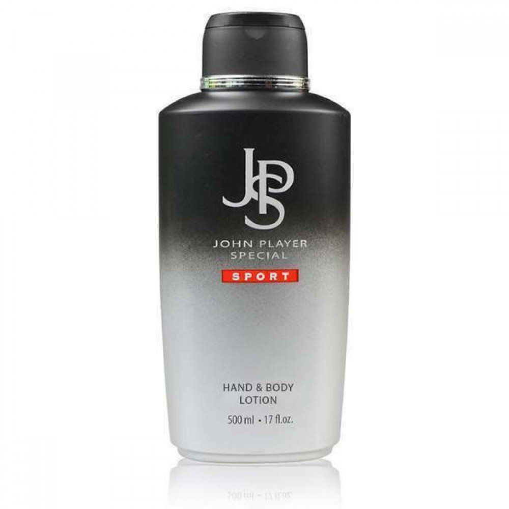 JOHN PLAYER SPECIAL SPORT MAN HAND AND  BODY LOTION 500ML