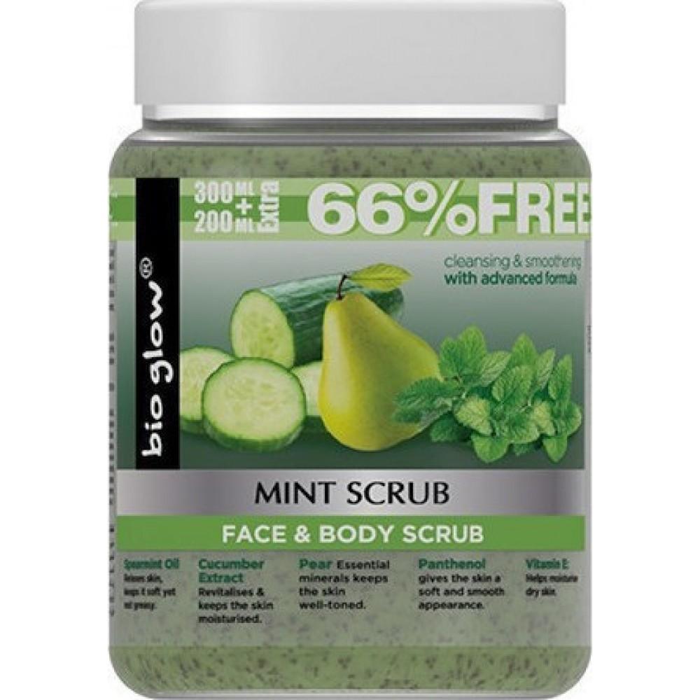 Bio Glow Mint Face Body Scrub 500ml