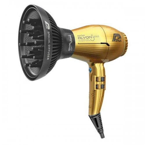 Parlux Alyon Gold 2250 Watt Με φυσούνα ΣΥΝ ΔΩΡΟ Byphasse Κερατίνη για ξηρά μαλλιά σε σπρέυ 250ml