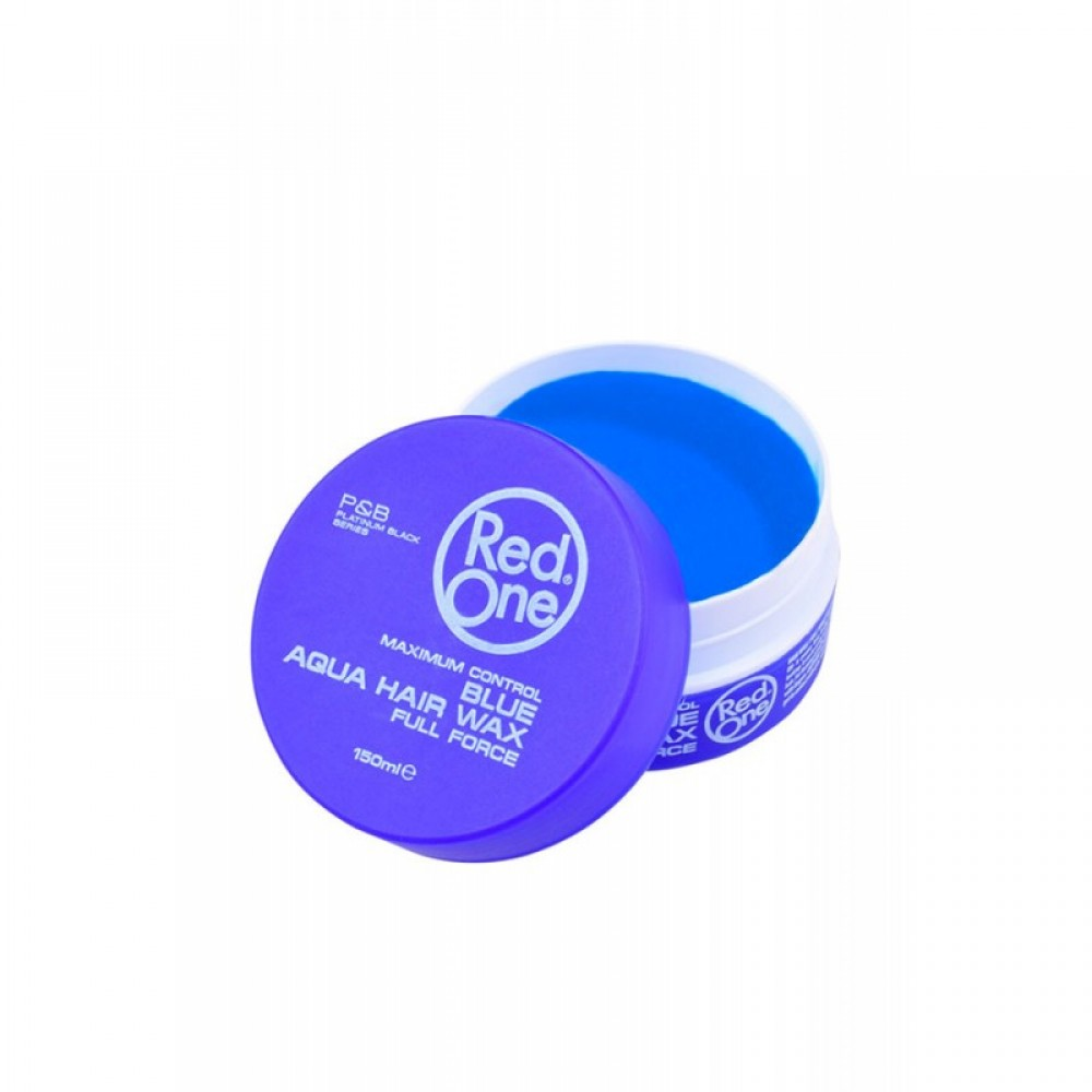 RED ONE AQUA HAIR WAX ΚΕΡΙ ΜΑΛΛΙΩΝ BLUE FULL FORCE 150ML