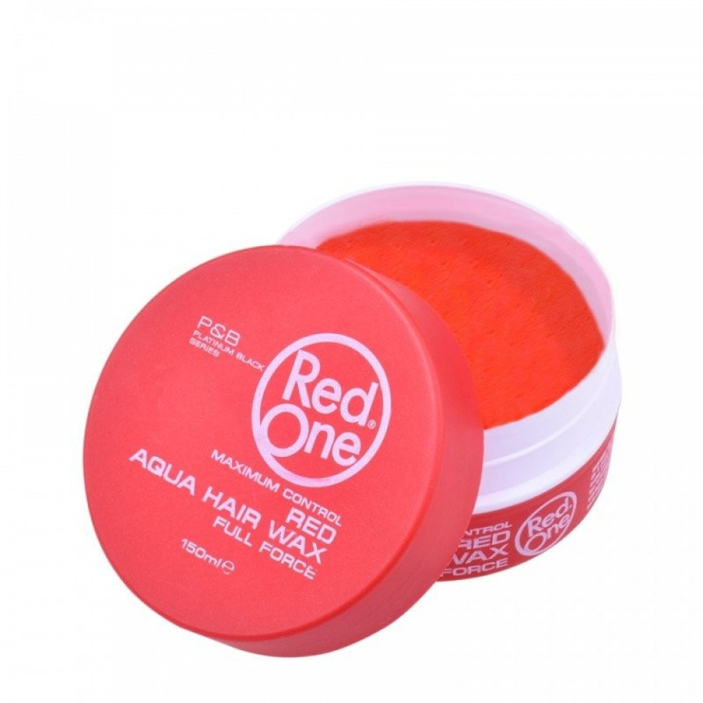 RED ONE AQUA HAIR WAX RED FULL FORCE ΚΕΡΙ ΜΑΛΛΙΩΝ 150ML