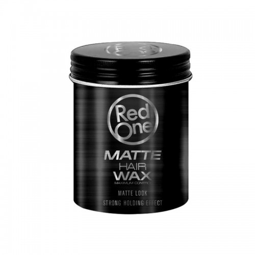 RED ONE MATTE HAIR WAX BLACK ΚΕΡΙ ΜΑΛΛΙΩΝ 100ML