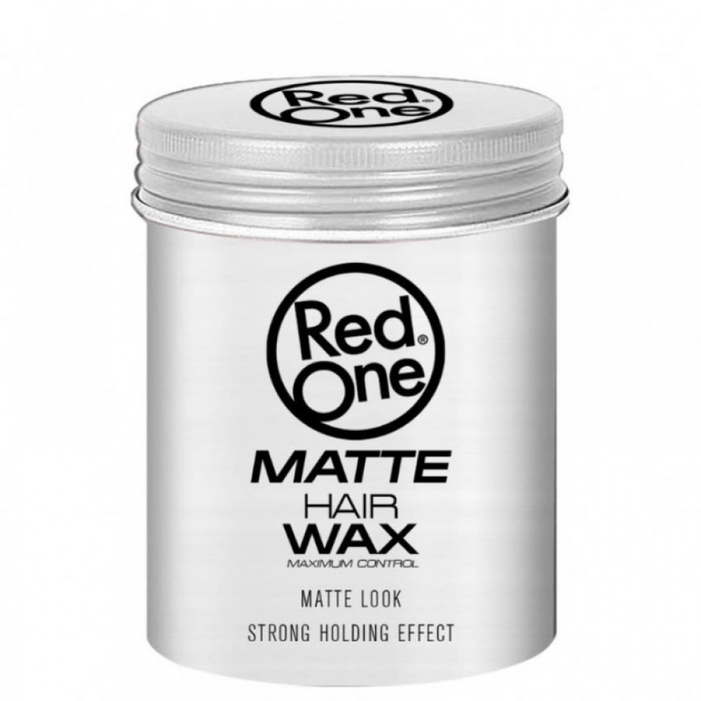 RED ONE MATTE HAIR WAX WHITE ΚΕΡΙ ΜΑΛΛΙΩΝ 100ML