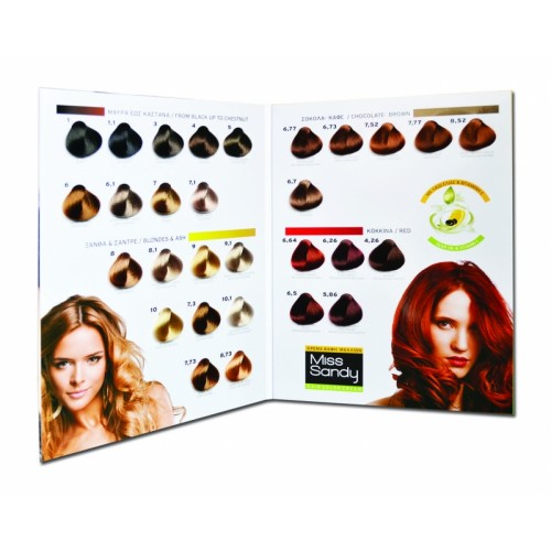 Miss Sandy Hair Color Cream 6 Ξανθό Σκούρο 60ml