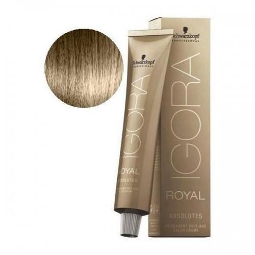 Βαφή μαλλιών Schwarzkopf Igora Royal Absolutes Νο 9-10 Ξανθό πολύ ανοιχτό σαντρέ  φυσικό 60ml