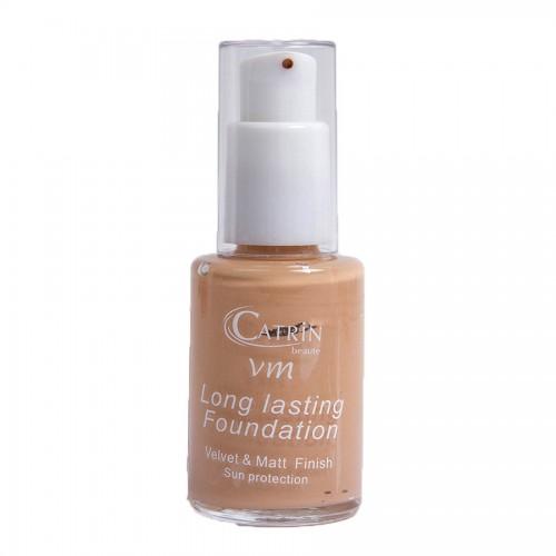 CATRIN Foundation Velvet make up Μακράς Διάρκειας 01 30ml