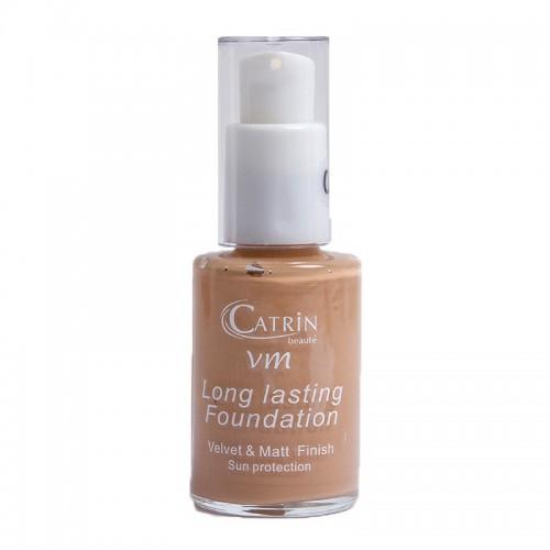 CATRIN Foundation Velvet make up Μακράς Διάρκειας 04 30ml