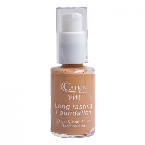 CATRIN Foundation Velvet make up Μακράς Διάρκειας 05 30ml