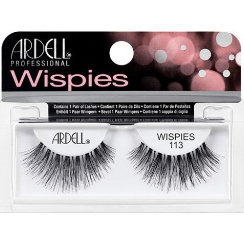 Bλεφαρίδες ardell wispies 113 black