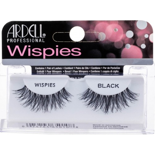 Bλεφαρίδες ardell wispies black
