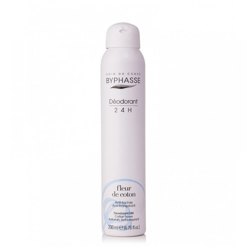 Byphasse Αποσμητικό spray cotton flower 200 ml